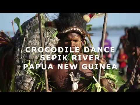 Traditional Crocodile Dance, East Sepik River, Papua New Guinea