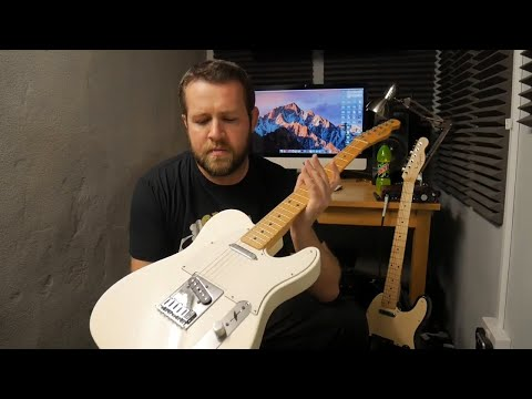Fender Telecaster Standard Olympic White Review Demo