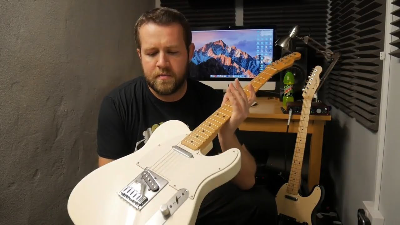 Fender Telecaster Standard Olympic White Review Demo Youtube