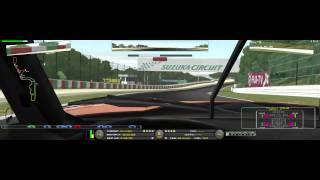 rFactor 2 - tanima-server Corvette C6R@Suzuka Circuit