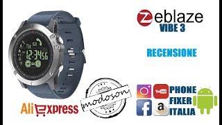 Zeblaze Vibe 3, Smartwatch Rugged IP67, Recensione By PHONE FIXER ITALIA