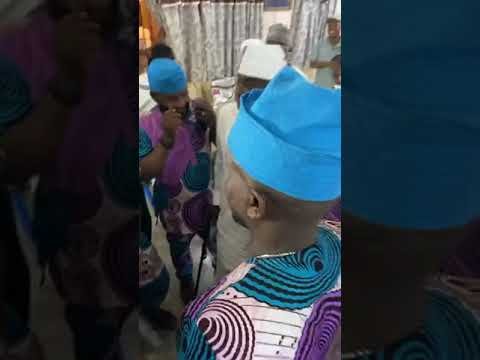 Download K1 DE ULTIMATE ATTENDS LATE SIKIRU AYINDE BARRISTER'S 10TH YEAR ANNIVERSARY AT ISOLO TODAY
