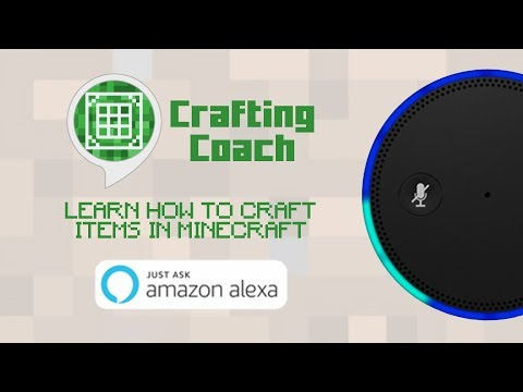 Crafting Coach for Amazon Echo 🎙 🔊 | Minecraft Crafting Guides