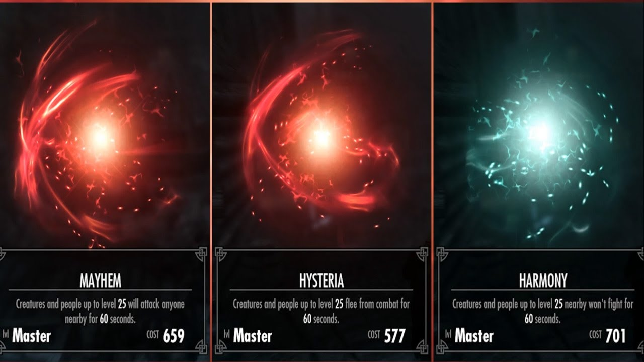 Skyrim - Master Destruction Guide - YouTube
