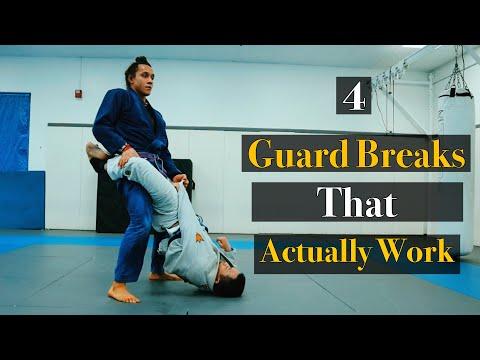 4 Best Closed Guard Breaks