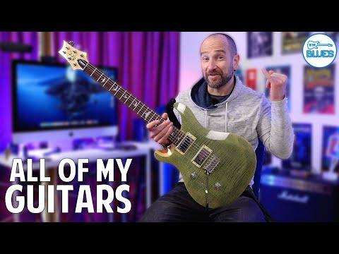 All of My Electric Guitars - Guitar Rundown!