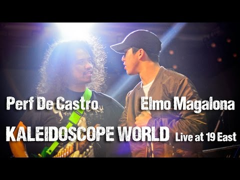 PERF DE CASTRO with ELMO MAGALONA: Kaleidoscope World live at 19East