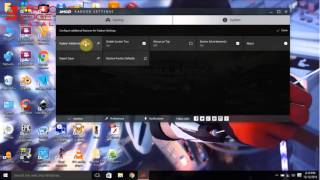 How to  Switch  Graphic card for games AMD Crimson 2015 2016