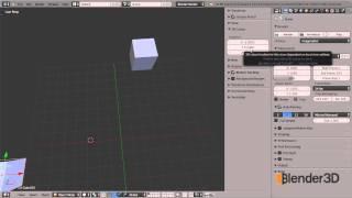 Использование 3D-курсора в Blender