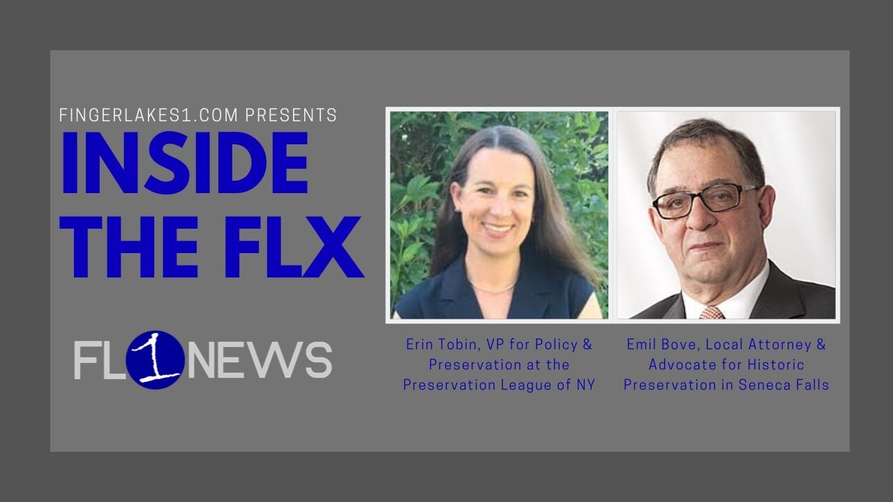 EPISODE #189: Answering common questions about historic preservation on Inside the FLX (podcast)