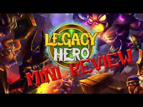 สำรวจเกมมือถือใหม่การีน่า Legacy Hero !!