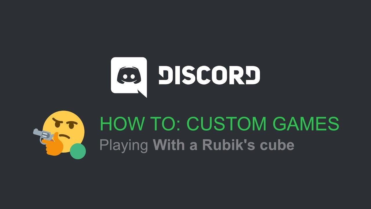 How To: Play Custom/Fake Games (Discord \\ 2019)