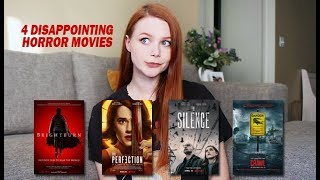 HORROR I'VE WATCHED LATELY   BRIGHTBURN, THE PERFECTION, THE SILENCE, CRAWL