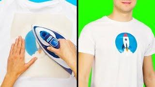кАК сделать рисунок на футболке своими руками