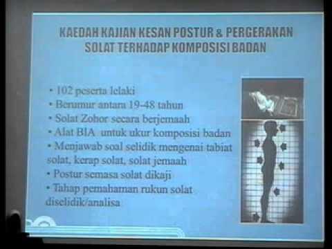 Prof .Ir Dr .Fatimah Binti Ibrahim (Sain &Solat)