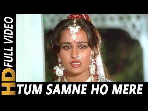 Tum Samne Ho Mere | Lata Mangeshkar | Badle Ki Aag 1982 Songs | Dharmendra, Reena Roy, Jeetendra