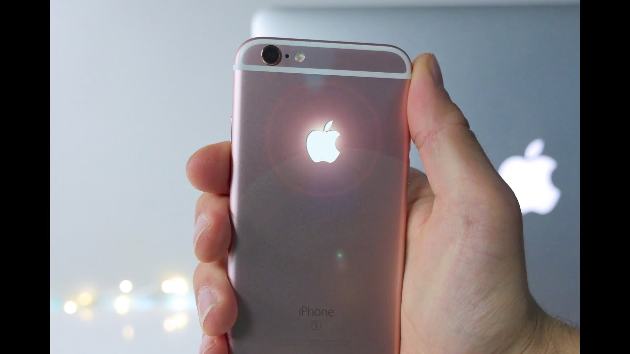 glowing apple logo iphone 6s mod - how to & should you? - youtube