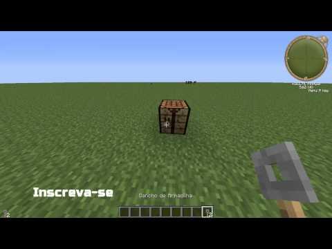 Minecraft - Como Fazer : Gancho De Armadilha