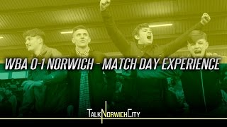 West Brom 0-1 Norwich - Match Day Experience