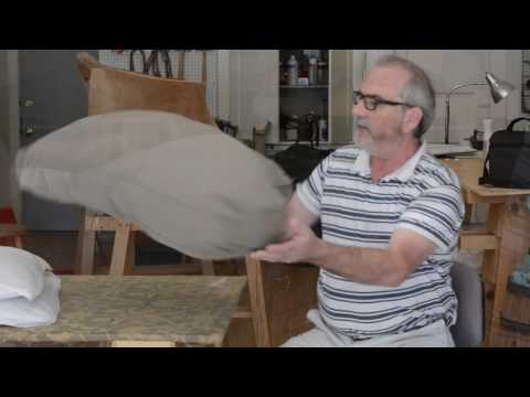 Stuffing a Cushion Cheaply and Effectively