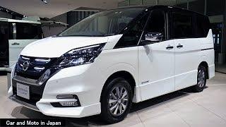 Nissan Serena e-POWER Highway STAR V : White / Black