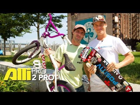 Skateboard and BMX Pro 2 Pro: Andy Macdonald and Kevin Robinson