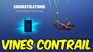 Fortnite new contrail. VINES - overtime rewards