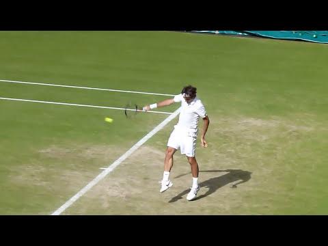 Federer v Nalbandian Great Court Side View