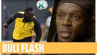 Schnelles Tor! Usain Bolt trifft im BVB-Training
