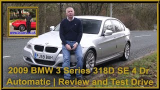Review and Virtual Video Test Drive In Our 2009 BMW 3 Series 318D SE 4 Dr Automatic