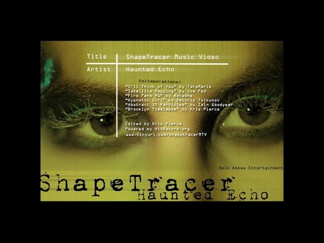 ShapeTracer Music Video