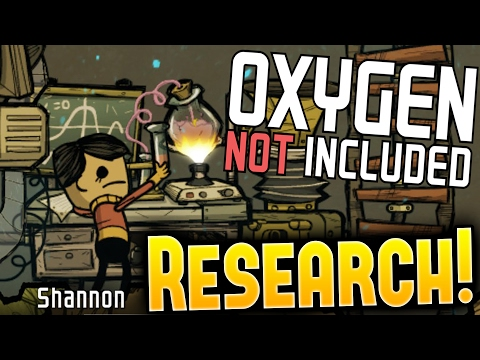 Oxygen Not Included - Research Station & Super Computer Complete! - Let's Play ONI Part 2