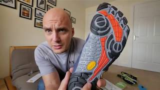 Vibram V-Train: Unboxing, Test and Review : Trail Running