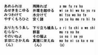 オリジナル曲『Irohanihoheto』(2008) - Popcorntarou