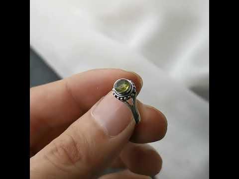 橄欖石造型戒指[ DCT Collection ]