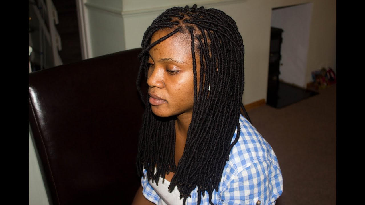 Quicker Easier way to do faux locs Deux YarnLocs
