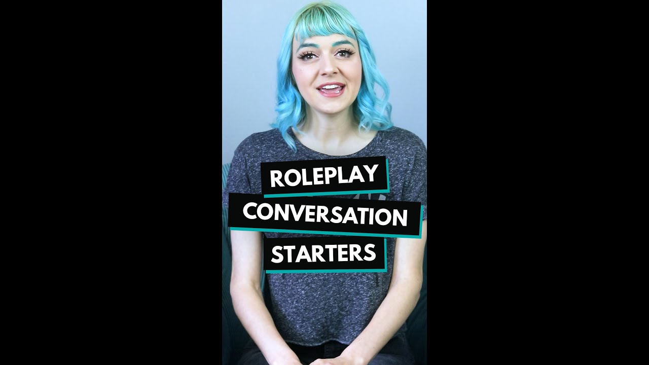 D&D Tips: Roleplay Conversation Starters // #shorts