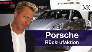 Porsche Cayenne und Macan - Rückruf: Dein Weg aus dem Abgasskandal!? #FragMingers
