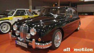 Jaguar Mark 2 MKII 3.8 black @ Retro Classics 2016