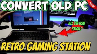 🔴CONVERT OLD LAPTOP / PC IN TO RETRO ARCADE MACHINE EASY GUIDE 2019