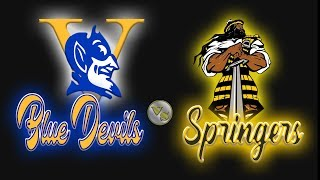 2019 PLAYOFFS 5B ROUND 2:  VARINA HIGH SCHOOL  BLUE DEVILS vs HIGHLAND SPRINGS HIGH SCHOOL SPRINGERS