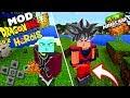 SAIU! - O MELHOR MOD DRAGON BALL HERÓIS V2 PARA MINECRAFT PE ! - (Minecraft Pocket Edition)
