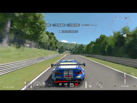 Gran Turismo Sport Circuit Experience Nurburgring Nordschleife Gold Lap Attack