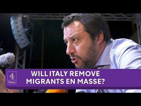 Is the new Italian Government about to kick out migrants en masse?