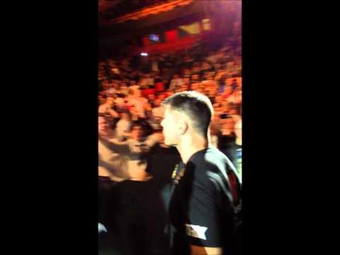 UFC SWEDEN Brian Stann entrance