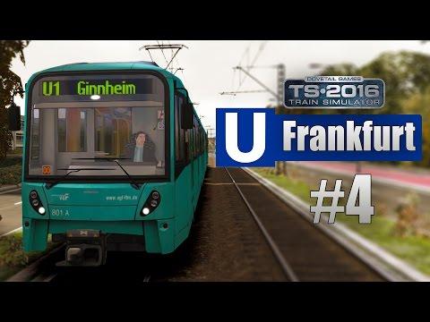 Train Simulator 2016: U-Bahn Frankfurt #4 - Auf der U3 mit Talk über Rheinbahn-Technik