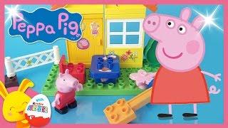Peppa Pig - Jouet de construction avec des enfants et les Titounis