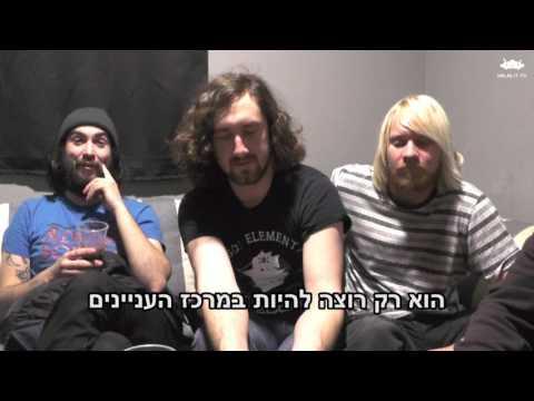 """ראיון עם להקת אודסיטי בתוכנית """"חתיכות"""" An Interview With Audacity"""
