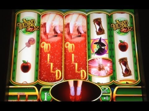 Ruby slippers slot machine big win loosest slots in tunica 2017