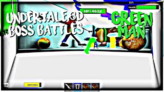 ROBLOX Undertale 3D Boss Battles: Green Man by MCRBLXGAMER